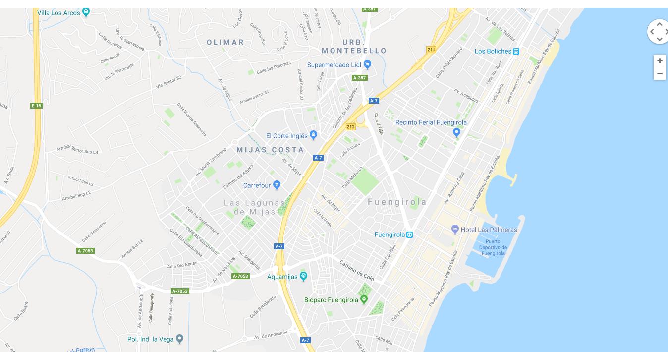locksmith fuengirola map